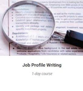Job Profile Writing Training Course