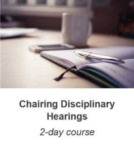 Chairing Disciplinary Hearings