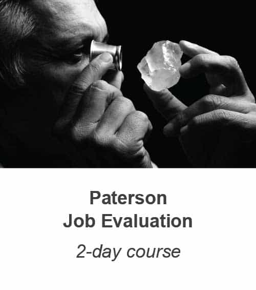 Paterson Job Evaluation training course
