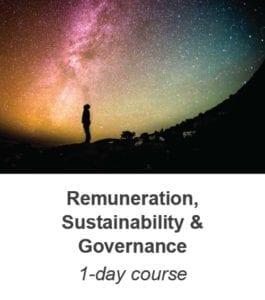 Remuneration Sustainability and governance training course