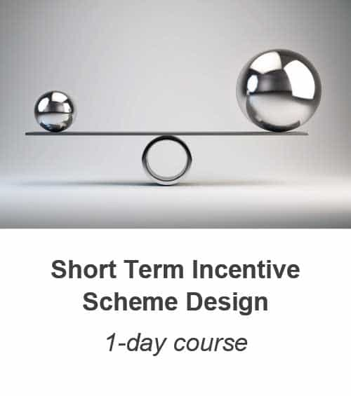 Short Term Incentive Scheme Design course